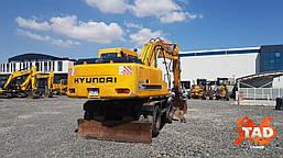 Колісний екскаватор Hyundai Robex 170-7 (2006 р), фото 2