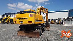 Колісний екскаватор Hyundai Robex 170-7 (2006 р), фото 3