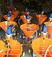 Мультифункциональная штукатурная станция ARS 95 с ресивером -штукатурка, гидроизоляция