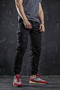 Брюки-карго мужские Ink (Инк) чёрные