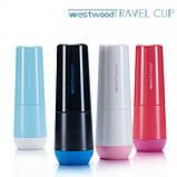 Travel чашка для зубної пасти та щітки Westwood, чорний (Norway black), фото 2