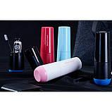 Travel чашка для зубної пасти та щітки Westwood, чорний (Norway black), фото 7