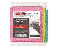 Pro service салфетки с микрофибры professional 38*38 4шт