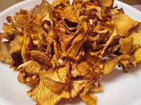 Сушені гриби лисички