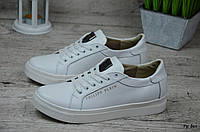 Женские кожаные кроссовки/кеды Philipp Plein (Реплика), фото 1