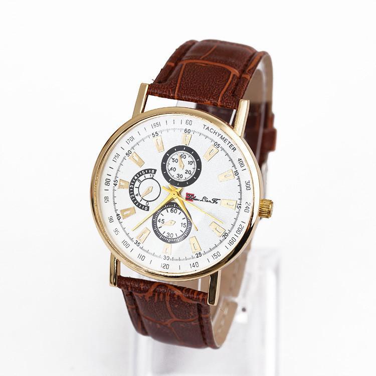 Часы мужские наручные OFFSET brown