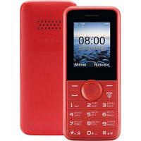 Мобильный телефон PHILIPS Xenium E106 Xenium Red, фото 1