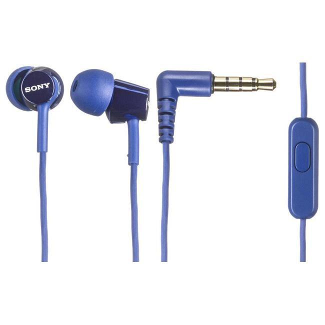 Наушники с микрофоном Sony MDR-EX150AP Blue