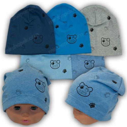 шапка для новорожденного без завязок