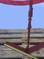 Плоскорез-пропольник к мотоблоку (470\350 мм) стойка 10 мм Булат, фото 1
