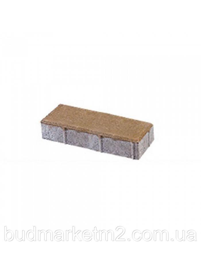 Тротуарная плитка Паркет цветной 6 см