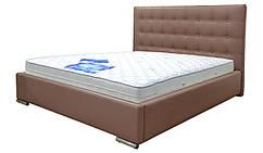 Ліжко двоспальне 160х200 Франческа ортопедична, еко шкіра, тканина. Під замовлення