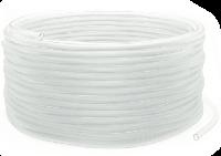 Шланг прозрачный молочный ПВХ 29х43 (бух.50м)