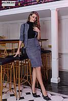 Женский костюм с юбкой р41 203.1гл, фото 1