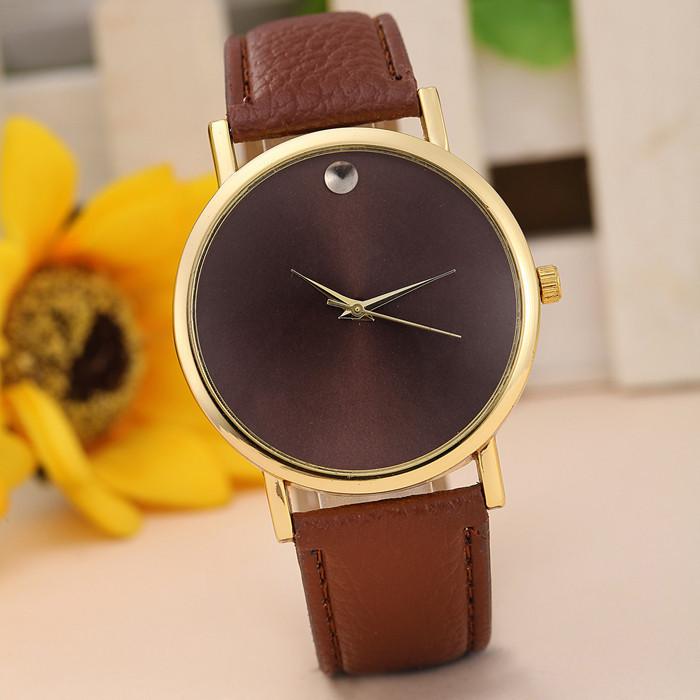 Часы женские Капля brown