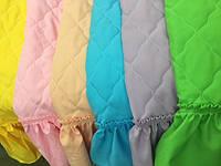 Покрывало на детскую кровать с одной рюшей, габардин, фото 1