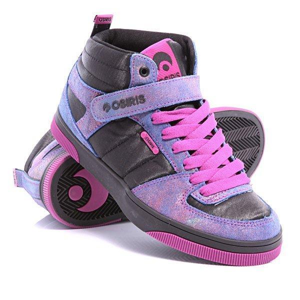 Кроссовки Osiris Uptown blk/rainbow/pink 5,5