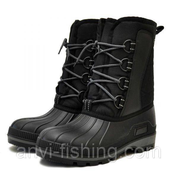 Мужские зимние сноубутсы Nordman Kraft на шнурках (ОХ-14 СК3)