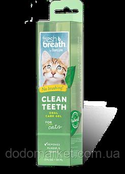 Гель для чистки зубов у кошек Тропиклин 59 мл