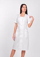 Женский медицинский халат большого размера  (батист)