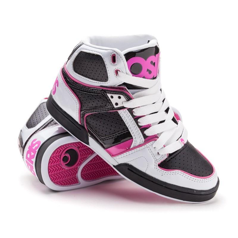 Кросівки Osiris Nyc 83 grls wht/blk/pink 37 розмір (23 см)