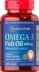 Omega-3 Fish Oil 1000 mg 100 casp (Puritan's Pride)