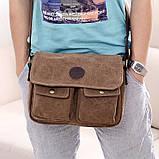 Сумка мужская One Way brown, фото 3