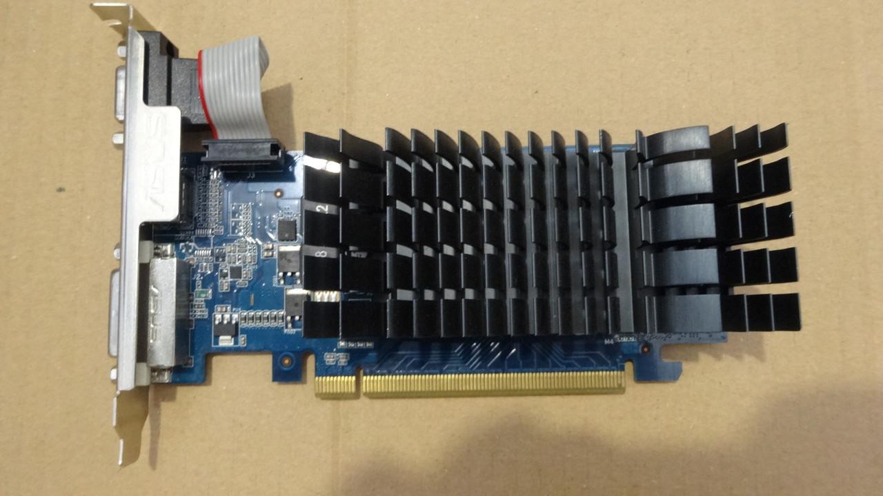 Видеокарта Geforce GT210 1Gb Пассивное охлаждение HDMI DVI VGA