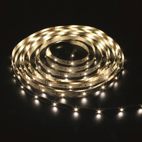Светодиодная лента 12в - Feron LS612 3528 120шт/м 9.6Вт (белая теплая), фото 2