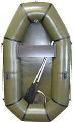 Надувная Лодка Омега Альфа ПВХ 210 - 1,5 местная (бюджетная)