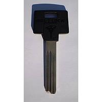 Оригинал Mul-T-Lock 206  /42,5мм/ Заготовка ключа Mul-T-Lock вертикальной нарезки с пластиковой ручкой.