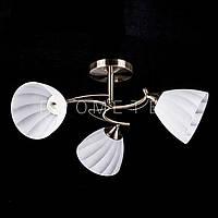 Люстра на 3 лампочки для низких потолков P5-N2938/3/AB