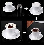 Трафареты шаблоны для капучино и кофе, фото 5