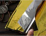 Одеяло спасательное термоодеяло Rettungsdeck, фото 2