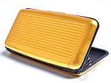 Кошелек Кредитница Aluma Wallet Gold, фото 3