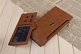 Гаманець жіночий BOGESI brown, фото 3