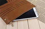 Гаманець жіночий BOGESI brown, фото 4
