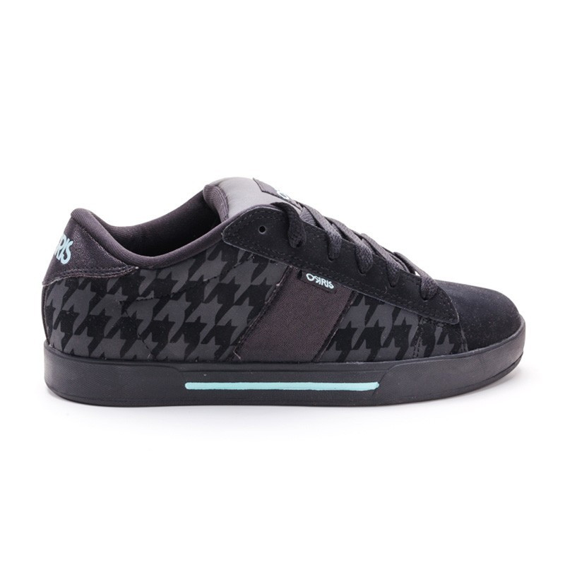 Кроссовки Osiris Serve girls blk/teal/houndstooth 35,5 размер (21,5 см)