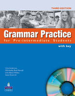 Grammar Practice for Pre-Int. Students with key and CD-ROM