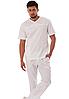 Мужской медицинский костюм Tramp, котоновый брючный медицинский костюм, мужской хирургический костюм