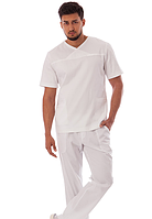 Чоловічий медичний брючний костюм коттон, фото 1