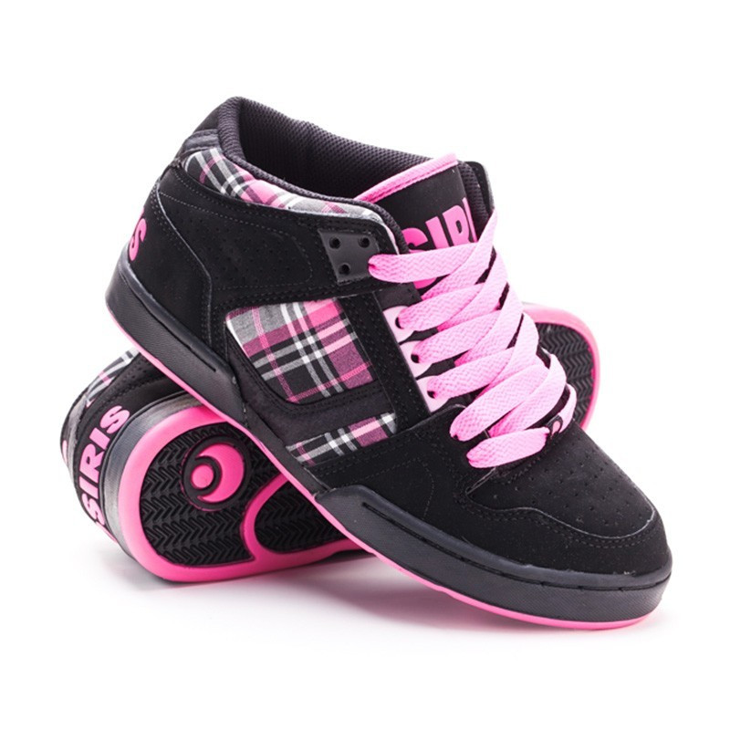 Кроссовки Osiris Nyc 83 Mid blk/pink/plaid 6,5