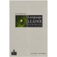 Language Leader Pre-Int. WB with key and Audio CD