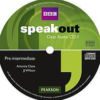 Speakout /2nd ed/ Pre-intermediate Set of 3 Class CDs