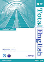 Total English New Edition Elementary Workbook with Key and CD Pack