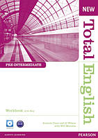 Total English New Edition Pre-intermediate Workbook with Key and CD Pack