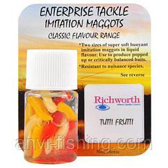 Искусственная насадка Richworth - Tutti Frutti Maggots Mixed Red, White, & Bronze