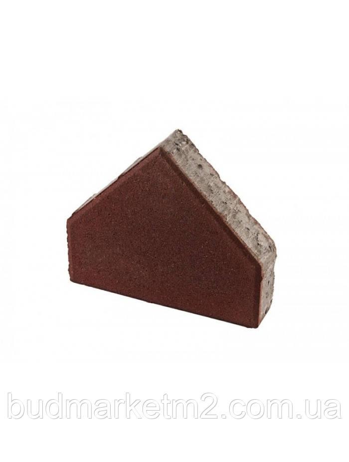 Тротуарная плитка Пирамида Стандарт 6 см Цветная