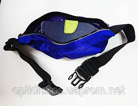 Сумочка для бега, спортивный пояс для телефона Havit HV-SA006, синяя