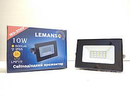 Светодиодный прожектор Lemanso 10W, 800LM, IP65, LMP19